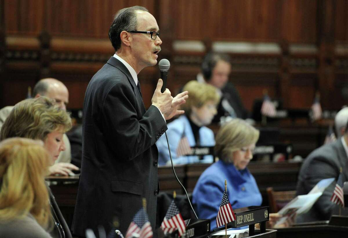 State Rep. Arthur O'Neill, R-Southbury, the longest-serving Republican in the state House of Representatives.