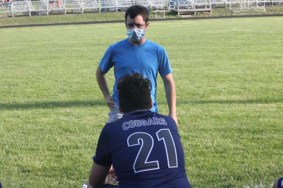 Crossroads' boy soccer team lost to Roscommon on Wednesday at Mitchell Creek Sports Complex Photo: John Raffel