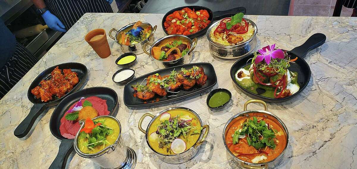 The recently opened Curry & Hurry restaurant at 1340 East Putnam Ave. in Greenwich offers nearly 40 entrees. Many are curry dishes that are favored with a combination of spices or herbs, usually including ground turmeric, cumin, coriander, ginger, and fresh or dried chilies.
