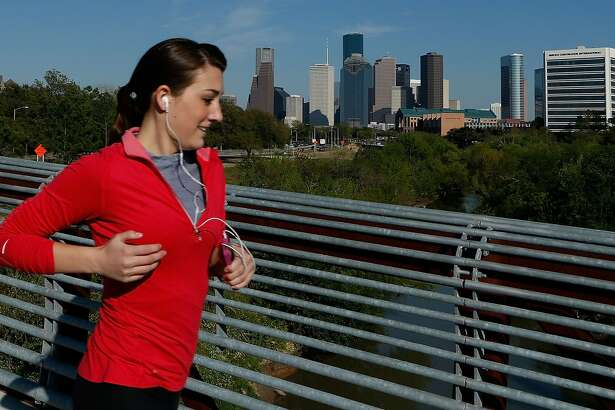 Take a walk or go for a run around Houston this weekend.
