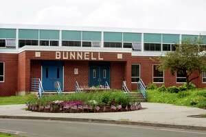 A view of Bunnell High School in Stratford.