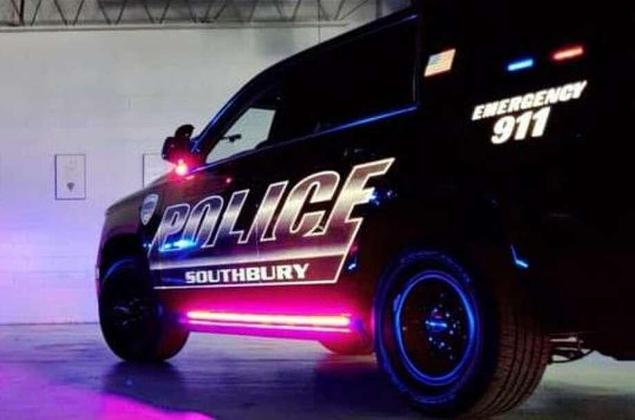 Southbury police vehicle Photo: Southbury Police Department