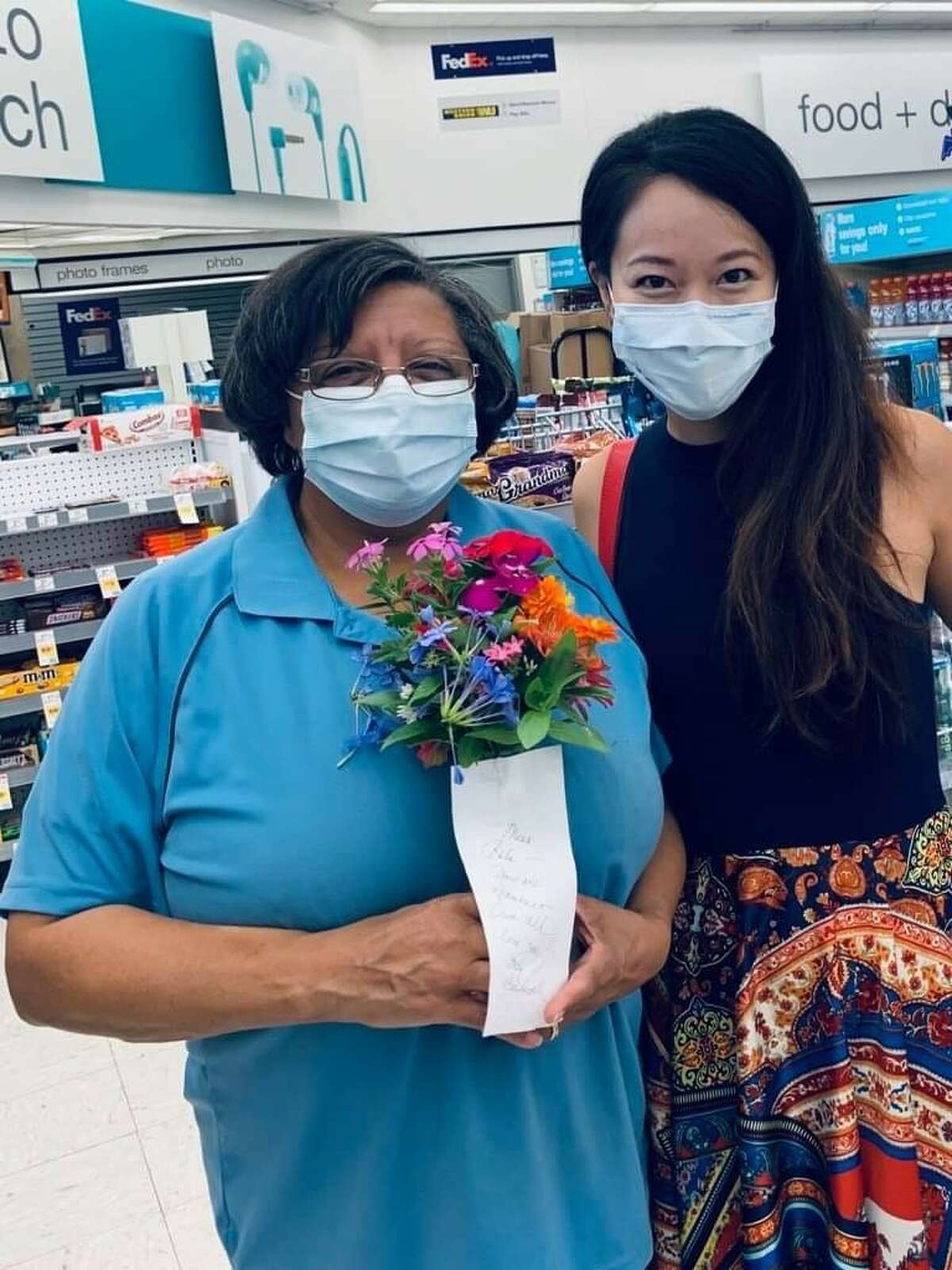 When Houston Walgreen's cashier Rita Burns offered to pay her last $20 for a customer's purchase, it was a sacrifice from the heart that spoke volumes for neighbors near the Stella Link store where Burns worked. It was also something of gamble. It was Burns' last $20 in her bank account, and she wanted to make sure she had enough to cover for Walgreens' customer, Rina Liou's items. The two had never met before.