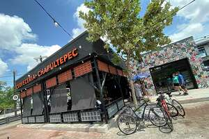 The new Mexican restaurant Cervecería Chapultepec opened this summer in the former Fontaine's space near the Pearl.