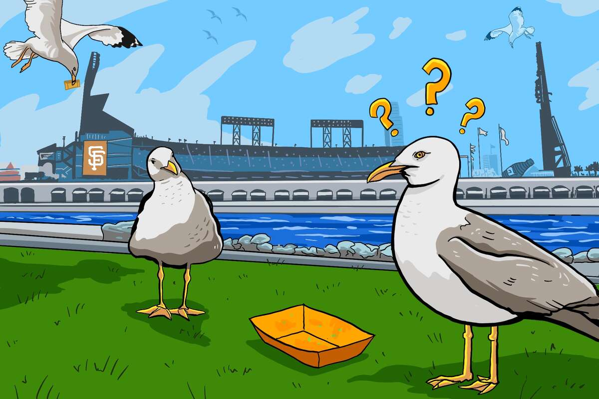 What's a seagull to do without Oracle Park garlic fries? Here's what we found.