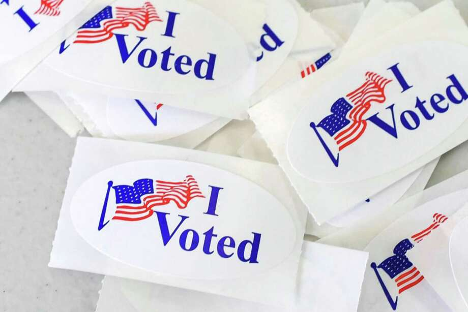 I voted stickers Photo: Robyn Beck / AFP / TNS / Getty Images North America