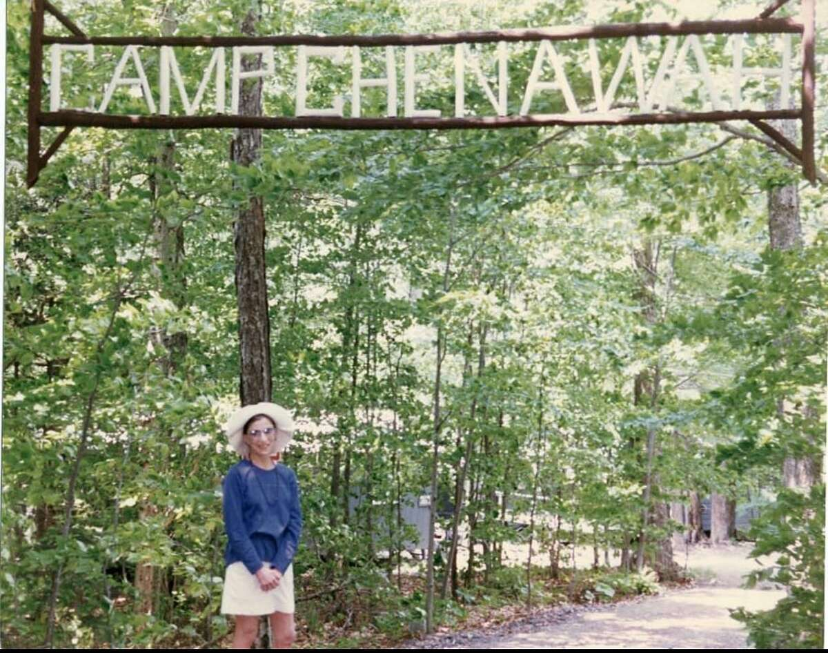 Ruth Bader Ginsburg visited Che-Na-Wah in 1995 with her grandchildren.