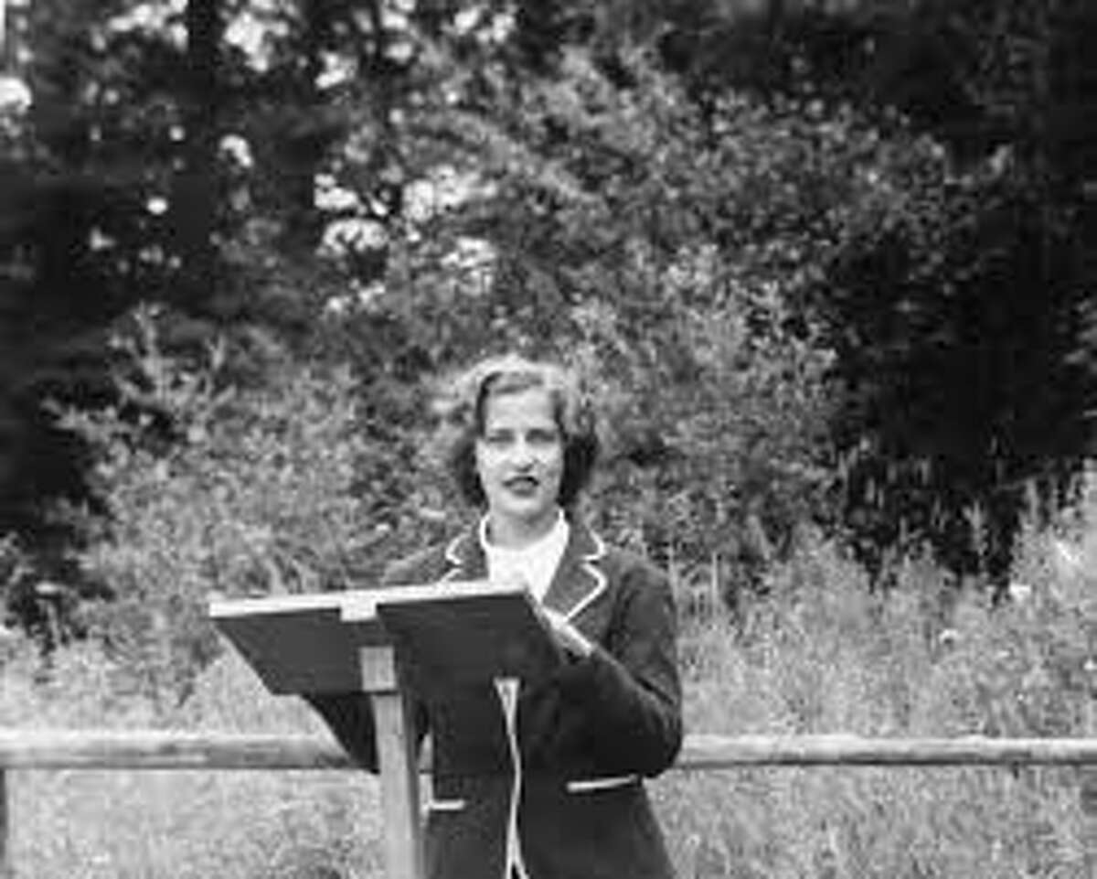 Ruth Bader Ginsburg was designated camp rabbi one Saturday morning during the summer of 1948. She was 15.