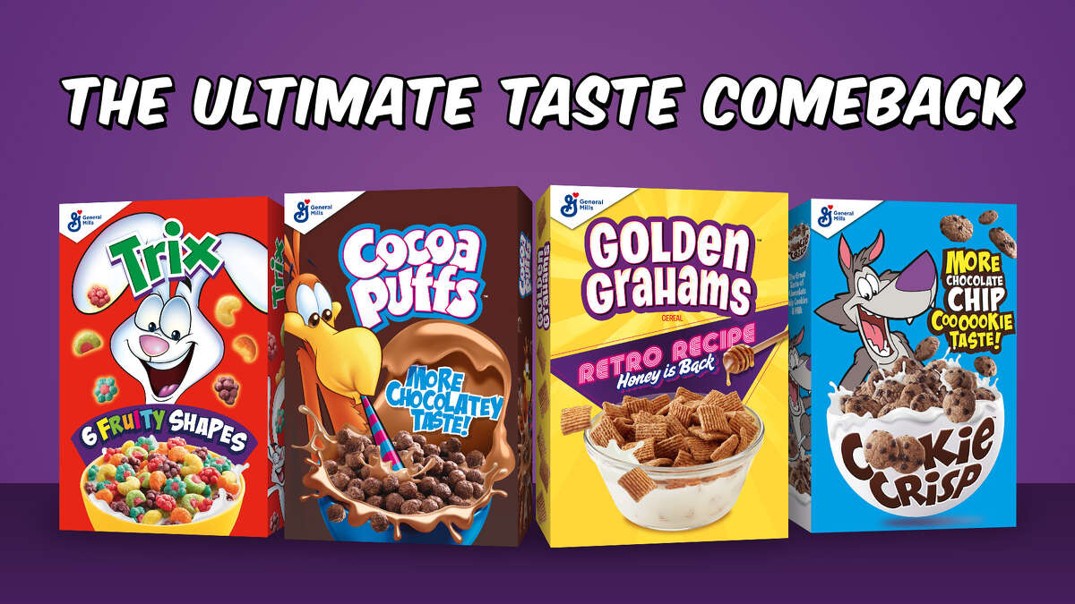 General Mills is going back to their 80's recipes for some of our favorite cereals. (Via Business Wire)