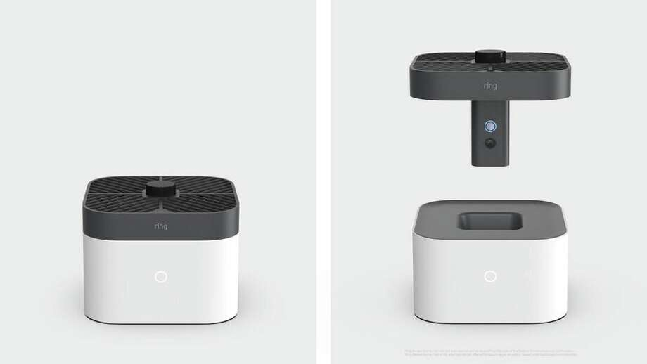 Ring's Always Home Cam is an indoor security camera drone. Photo: Ring