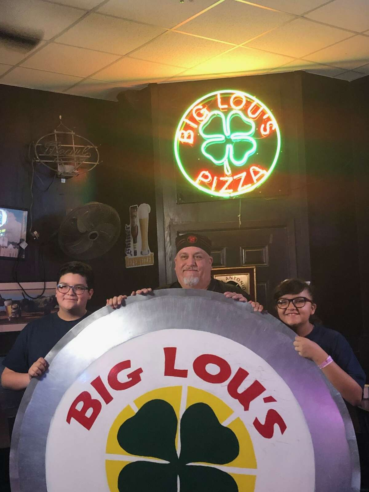 Big Lou's Pizza owner Brian Lujan said the 20-year-old restaurant has