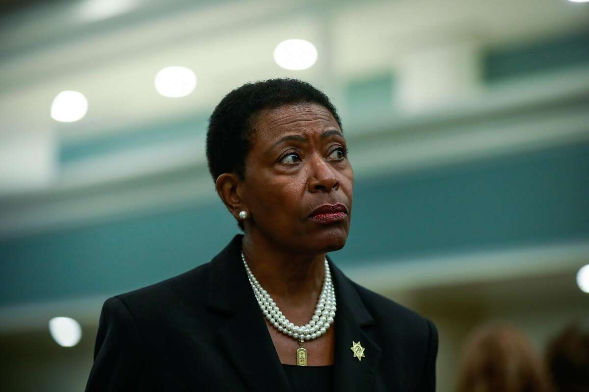 Contra Costa County District Attorney Diana Becton is seen during an interview with NPR at the court proceedings of Joseph DeAngelo (not pictured) where he plead guilty for crimes linked to the Golden State Killer on Monday, June 29th, 2020 in Sacramento, California.Becton said Thursday she will no longer charge people arrested for possessing small amounts of drugs, a policy intended to unclog the courts and steer more people out of the criminal justice system.