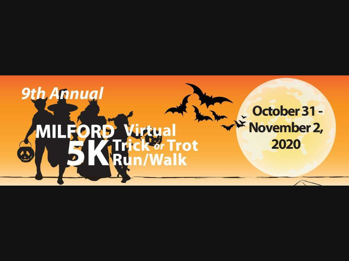 The 9th annual Milford Trick or Trot 5K Run/Walk to benefit the Beth-El Center will be a virtual event Saturday, Oct. 31 through Monday, Nov. 2.