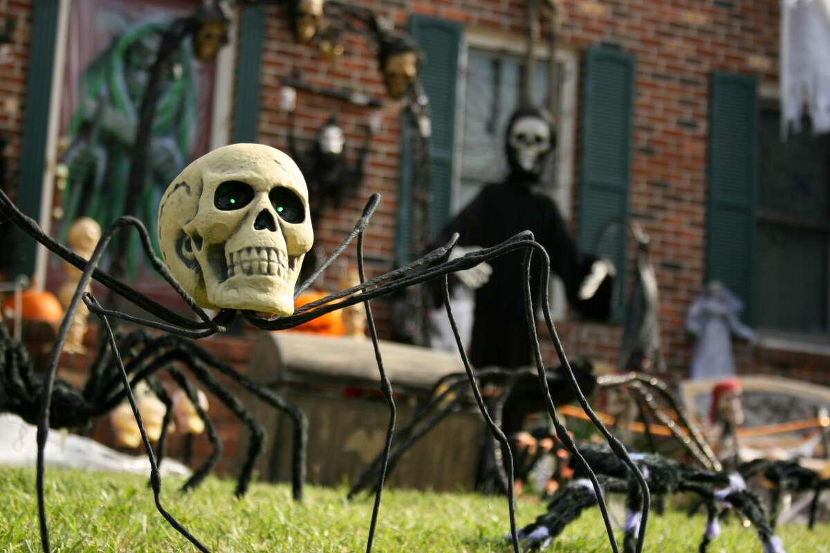 Since this Halloween will most likely be at a six-foot distance, the best way to spread the spookiness of the season is to decorate your house or apartment. So get out those lights, skeletons and spider webs and help make your street look like something out of Halloweentown.