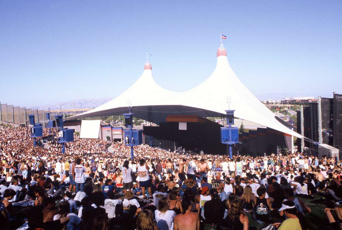 Atmosphere at Lollapalooza 1992 at Shoreline Amphitheatre on July 18, 1992, in Mountain View.