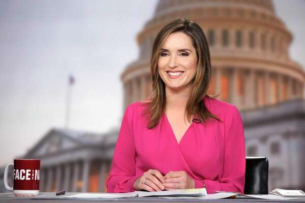 """CBS correspondent Margaret Brennan is the host of """"Face the Nation"""" in Washington, DC. Photographed on Friday February 23, 2018. Photo: Chris Usher/CBS ©2018 CBS Broadcasting Inc. All Rights Reserved."""