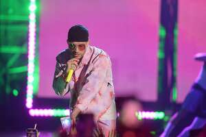 MEXICO CITY, MEXICO - MARCH 05: Bad Bunny performs onstage during the 2020 Spotify Awards at the Auditorio Nacional on March 05, 2020 in Mexico City, Mexico. (Photo by Matt Winkelmeyer/Getty Images for Spotify)