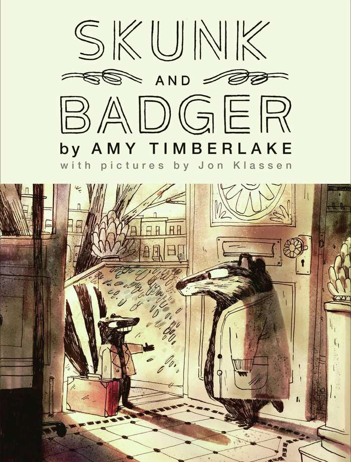 "The new book ""Skunk and Badget"" by Amy Timberlake. Photo: Algonquin Books /Contributed Photo /"