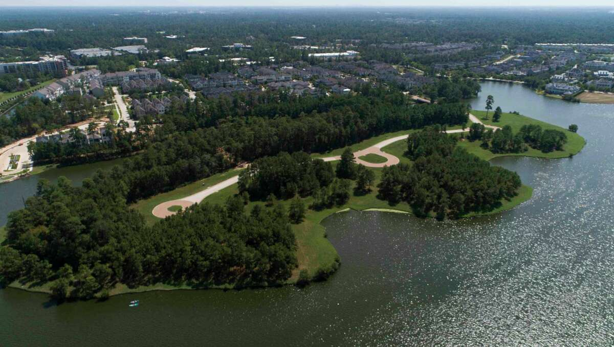 Mitchell Island, an exclusive, yet-to-be developed section of The Woodlands, on Friday, Sept. 18, 2020, in The Woodlands.