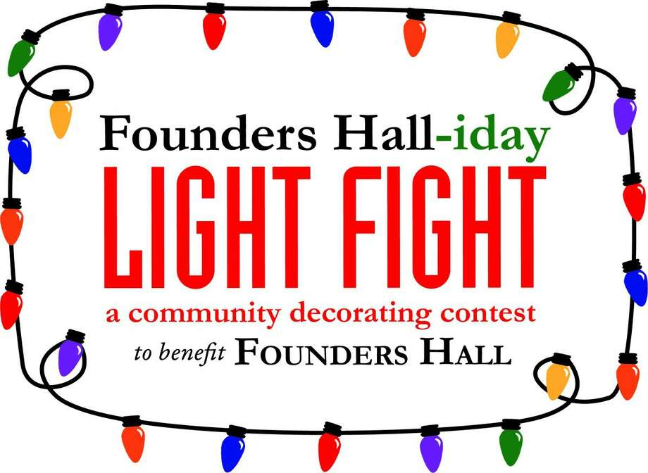 Residents and businesses may register to compete in the The Founders Hall-iday Light Fight fundraiser to take place in December. Photo: Founders Hall