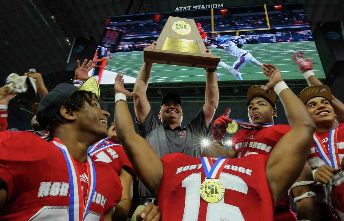North Shore's quest to repeat as state champions starts against Shadow Creek, which won a title in 5A last season.