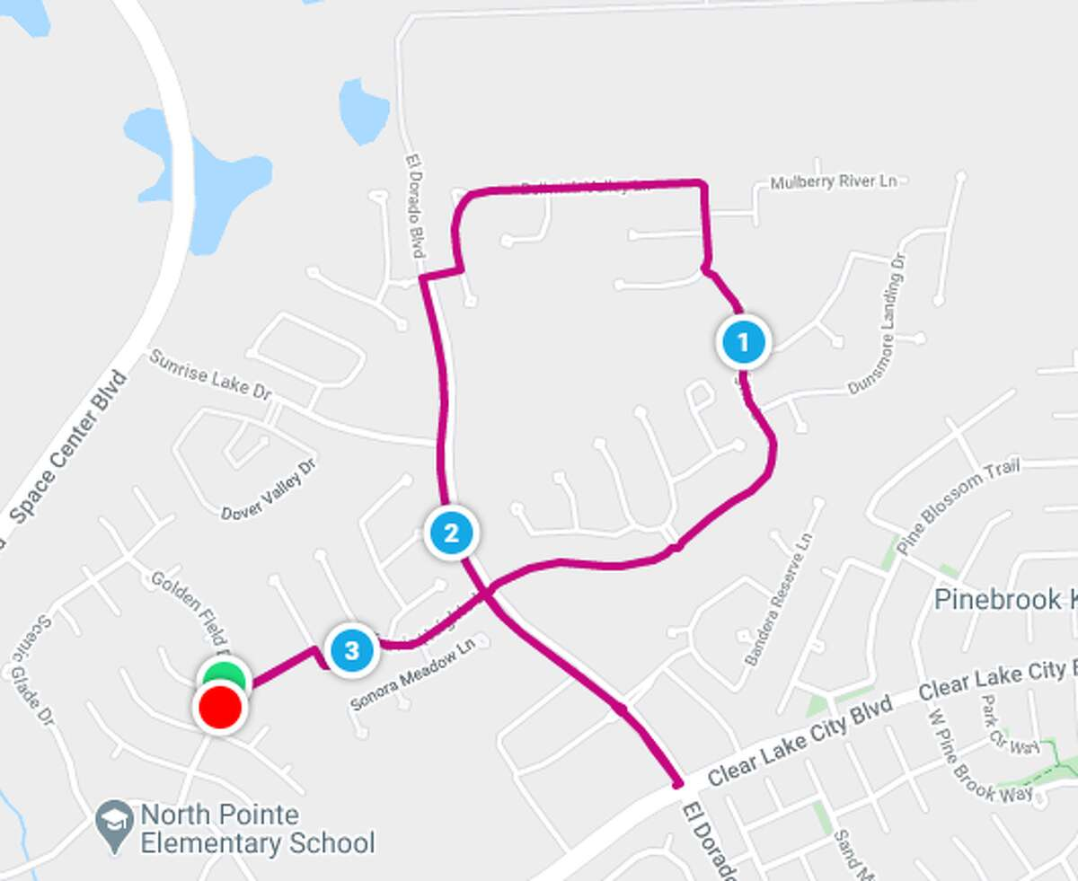 Warren Hall's Oct. 3 race route in Clear Lake will have a familiar shape to those who support the Komen Houston Race for the Cure.