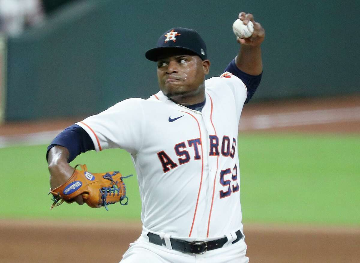 Framber Valdez's availability for a start in the wild card round might hinge on whether the Astros can wrap up a playoff berth before Sunday.