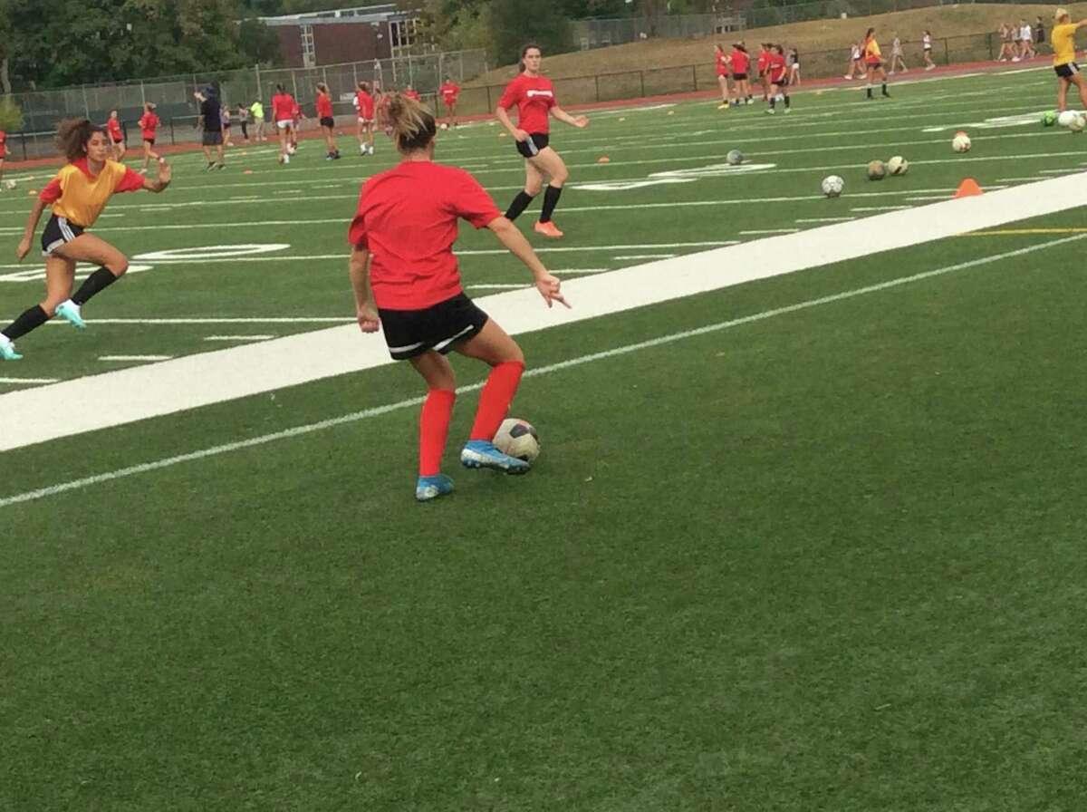Sophia Bastek is a senior captain of the Greenwich High School girls soccer team.