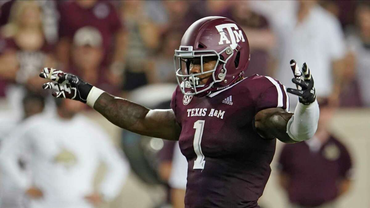 Buddy Johnson has taken on the leadership role with A&M's linebackers and others.