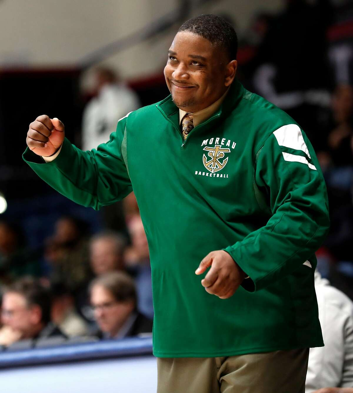 Moreau Catholic-Hayward head coach Frank Knight has been a government teacher for 21 years and as part of the curriculum, he gets all of his students and players to register to vote.
