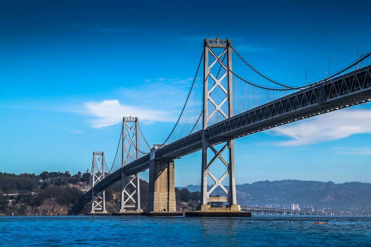 File photo of the Bay Bridge.