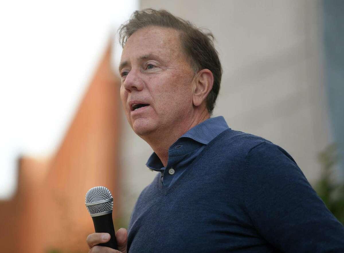 Gov. Ned Lamont in Stamford, Conn., on Sunday, September 20, 2020.