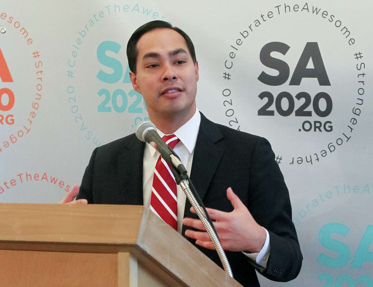 Then-Mayor Julian Castro launched the SA2020 initiative in 2010 to create goals for the future.