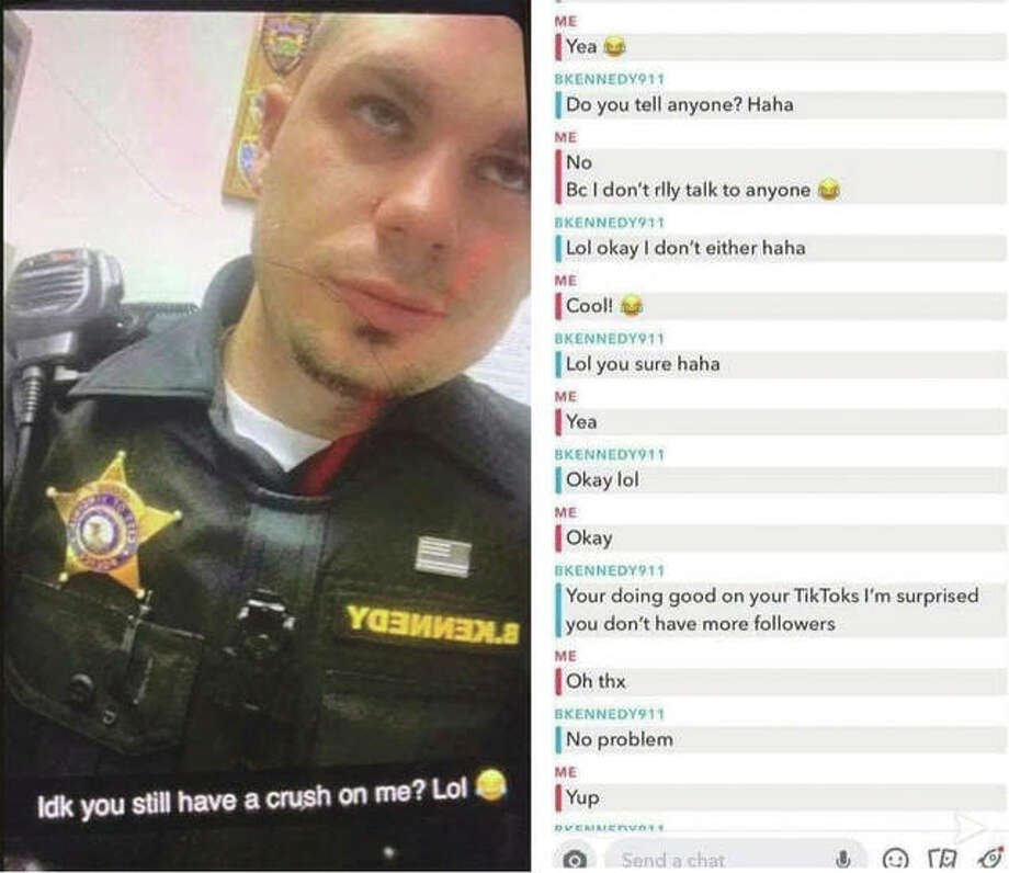Photos posted by KTS: Stop Sexual Assault may be at the heart of an investigation into Virginia's police chief. Photo: Facebook: KTSpredhuntersllc