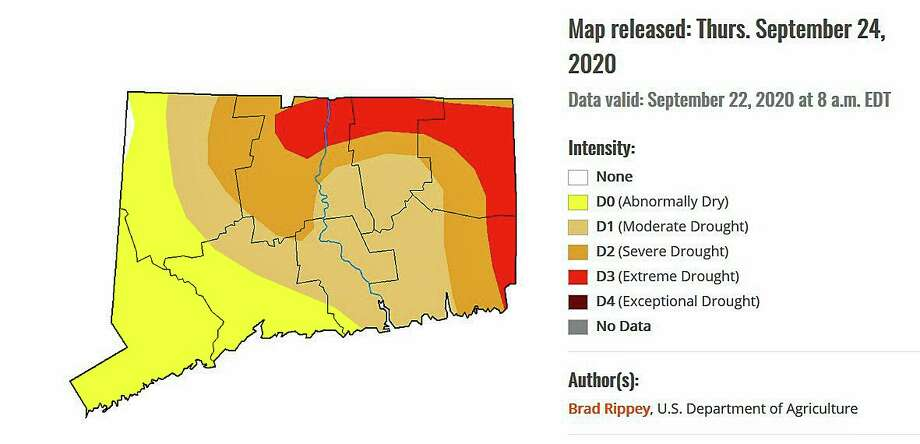 Areas of extreme drought conditions are expanding in Connecticut, according to a new report released Thursday. U.S. Drought Monitor says that 99 percent of the state has abnormally dry or drought conditions; last week it nearly 85 percent.