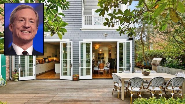 Former Presidential Candidate Tom Steyer Selling $11M San Francisco Home