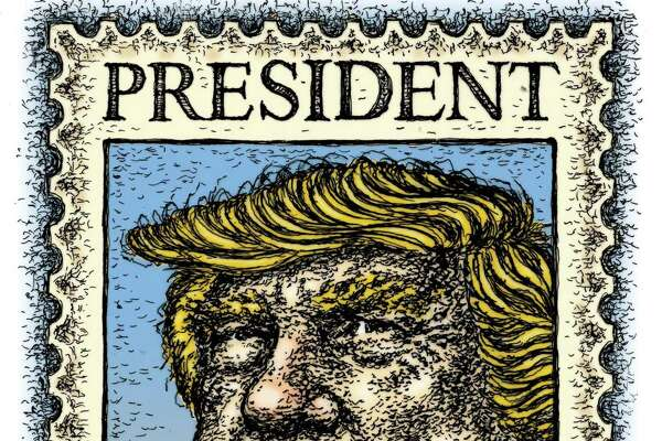 Illustration on President Donald Trump and the 2020 election.