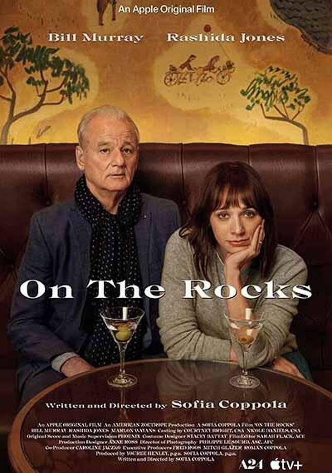 "Rashida Jones and Bill Murray star in Sofia Coppola's new film ""On the Rocks,"" which was screened at the virtual New York Film Festival. Photo: IMDb / Contributed Photo"