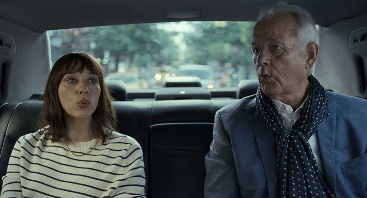 Rashida Jones and Bill Murray star in Sofia Coppola's new film