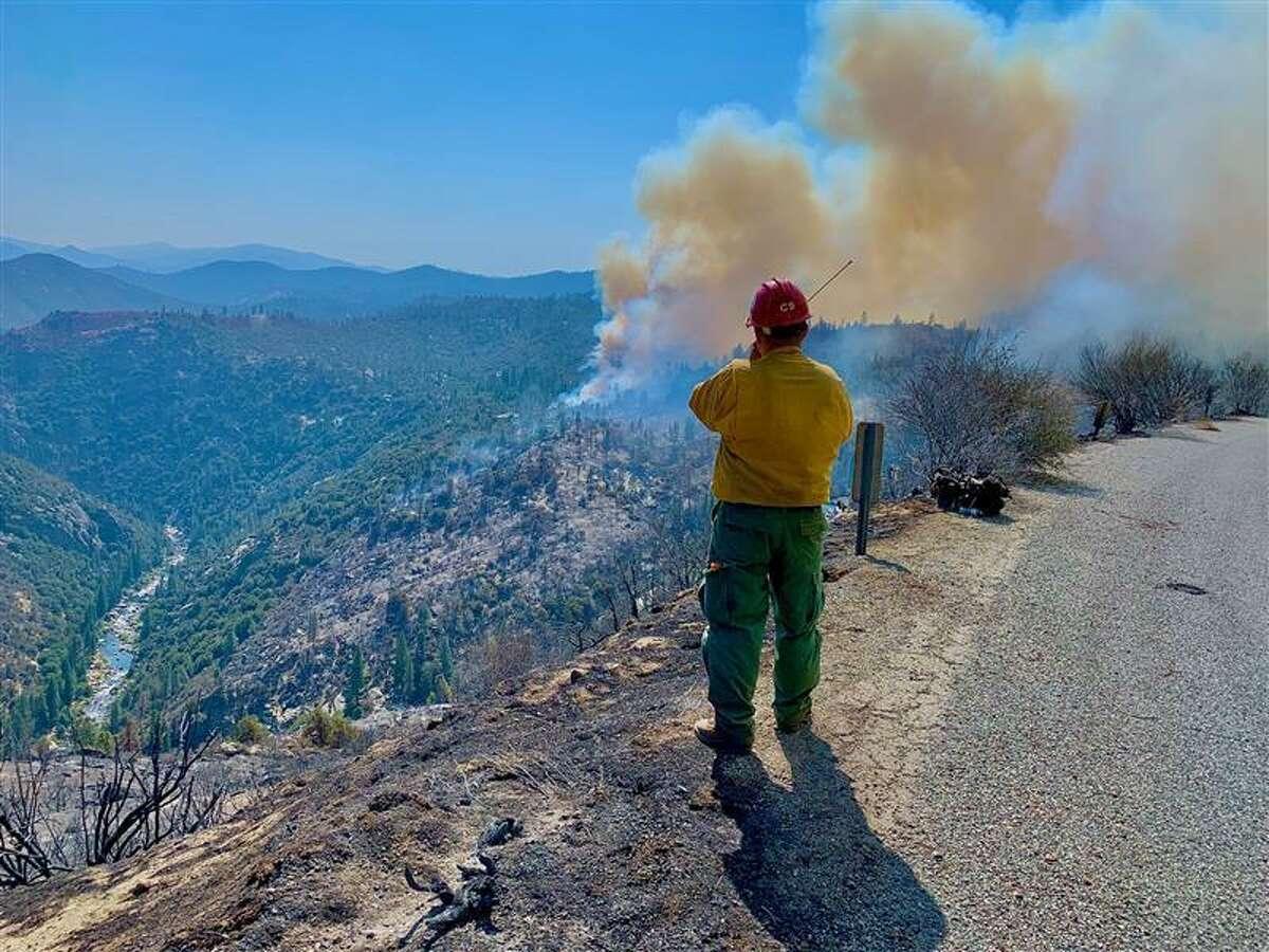 The National Interagency Fire Center announced Wednesday it has requested fire personnel from Canada & U.S. Military to assist with wildfires in California and Oregon, along with five crews totaling 100 firefighters and four agency reps from Guadalajara, Mexico.