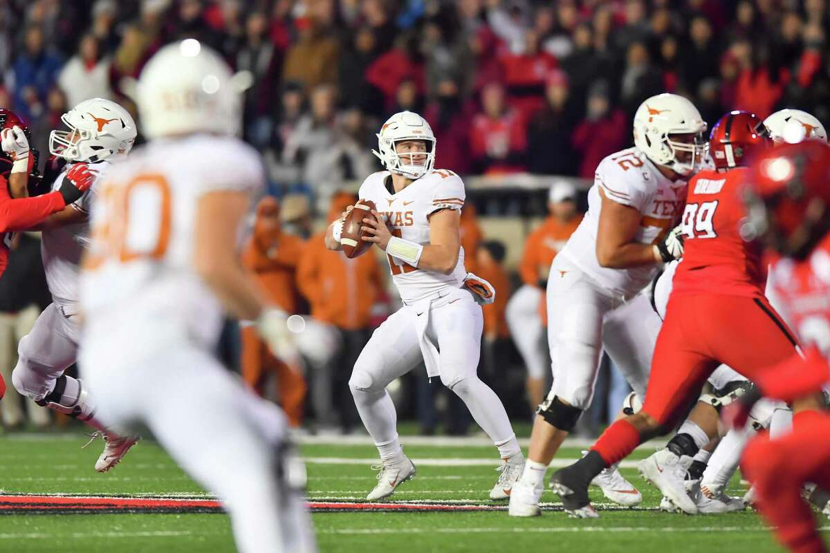 Sam Ehlinger will be without two receivers (Jake Smith and Jordan Whittington) on this trip to Lubbock.