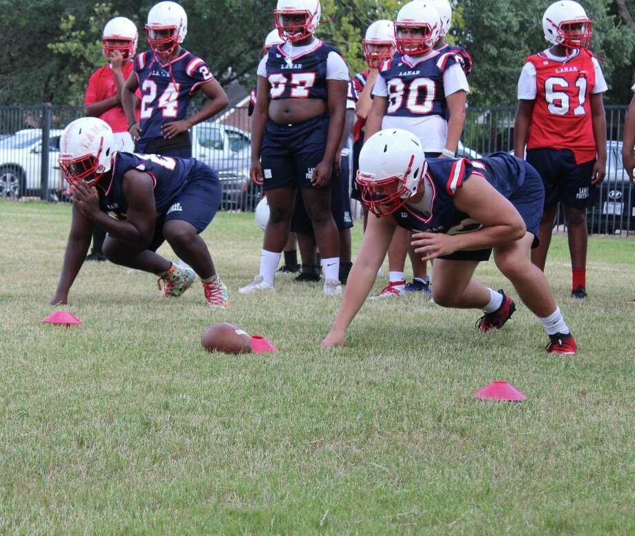 Lamar football open up fall camp on Sept. 14 to prepare for the 2020-2021 football season. Photo: Marcus Gutierrez Staff Photo