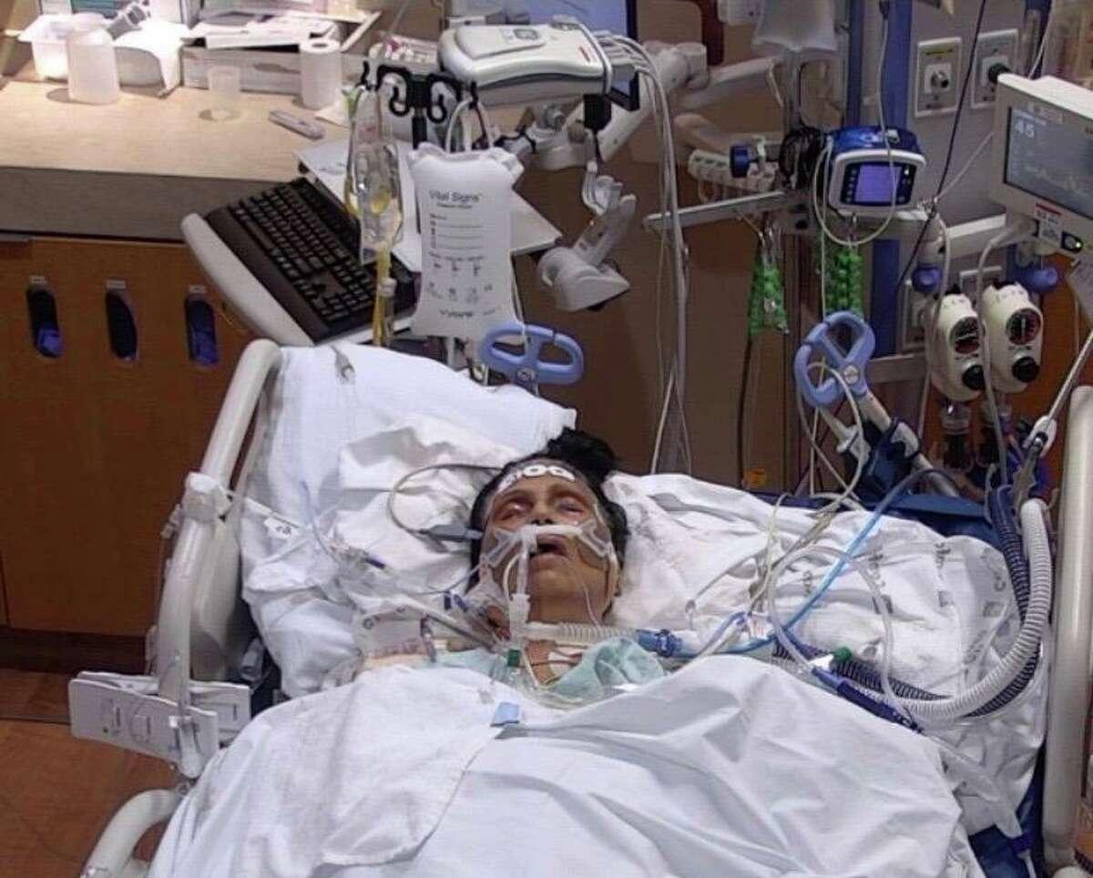 "COVID patient Susham ""Rita"" Singh spent seven weeks on a ventilator."