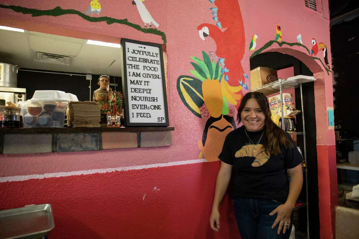 Ana Armendariz the owner of Cora?•s Bistro opened for poses for a portrait Thursday, Sept. 24, 2020 at 305 West Ohio Avenue. Jacy Lewis/Reporter-Telegram