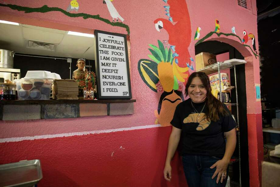 Ana Armendariz the owner of CoraÕs Bistro opened for poses for a portrait Thursday, Sept. 24, 2020 at 305 West Ohio Avenue.   Jacy Lewis/Reporter-Telegram Photo: Jacy Lewis/Reporter-Telegram / MRT