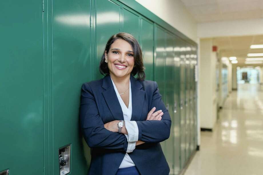 Repbulican Ellie Kousidis, a Stamford Public Schools educator and first time candidate, is running for state senate of the 25th district against incumbent Democrat Bob Duff. The 25th district consists of part of Darien and all of Norwalk, Conn. The election is Nov. 3, 2020. Photo: /