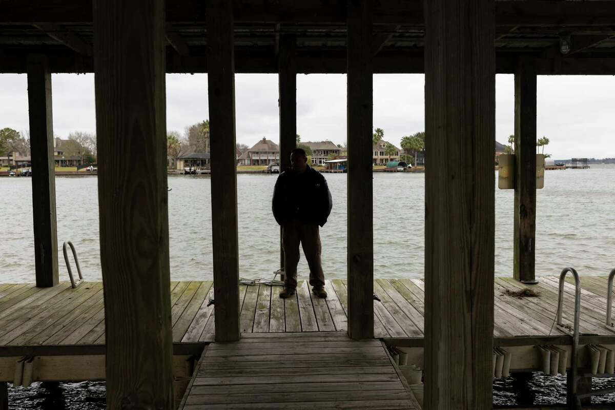 Lt. Tim Cade shares his experiences being a Montgomery County Constables lake patroller during the winter months near Lake Conroe, Wednesday, Feb. 5 , 2020.