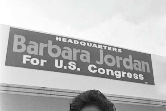 Barbara Jordan, seen in a 1972 photo, was the first black woman elected to the Texas Senate and the first black Texan in Congress. Both Jordan and Supreme Court Justice Ruth Bader Ginsburg are in inspiration to generations of women, a reader says.
