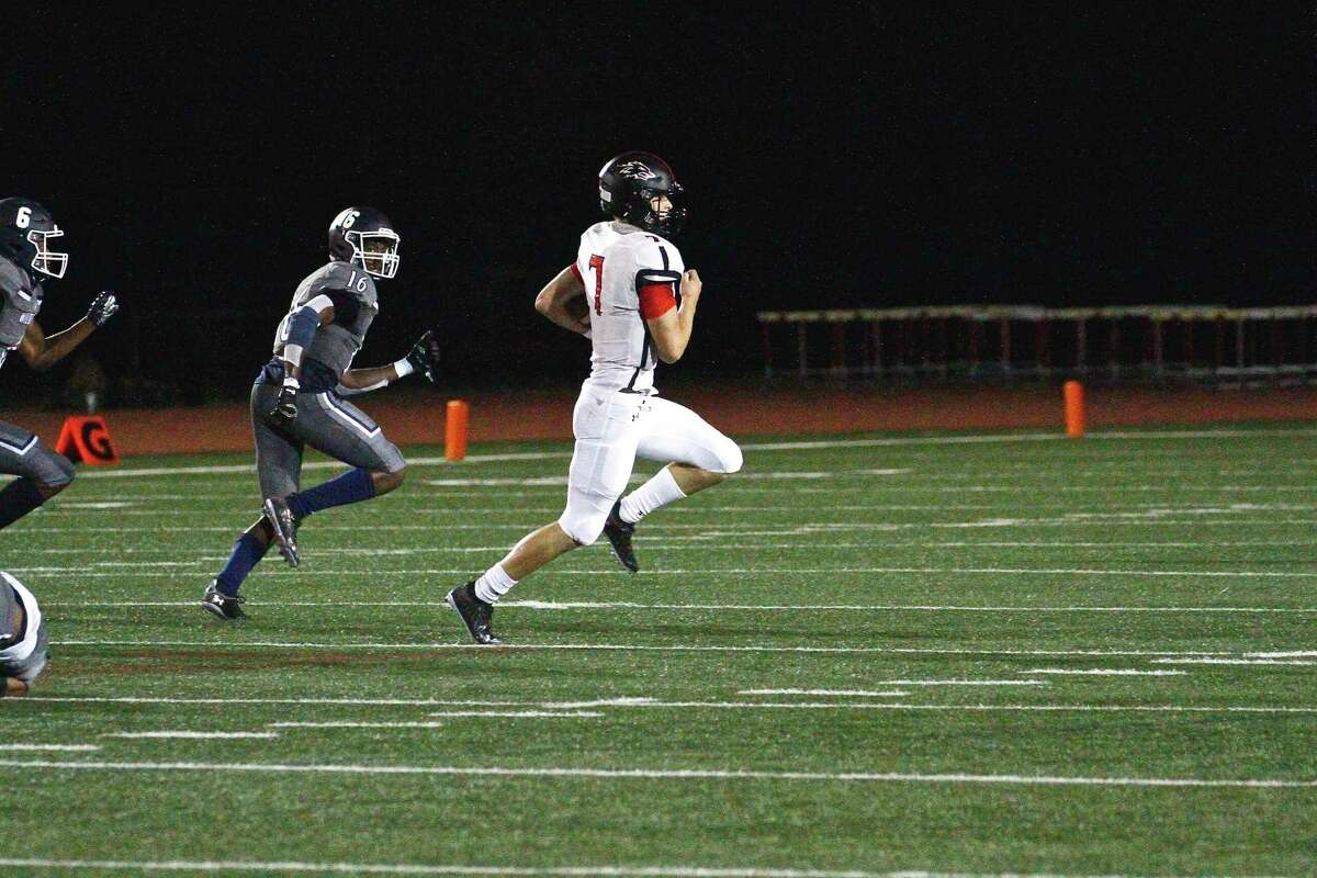 Langham Creek suffered a 55-7 non-district loss against Tomball Memorial in the 2020 season opener, Sept. 24, at Tomball ISD Stadium with limited attendance and safety protocols in place amid COVID.