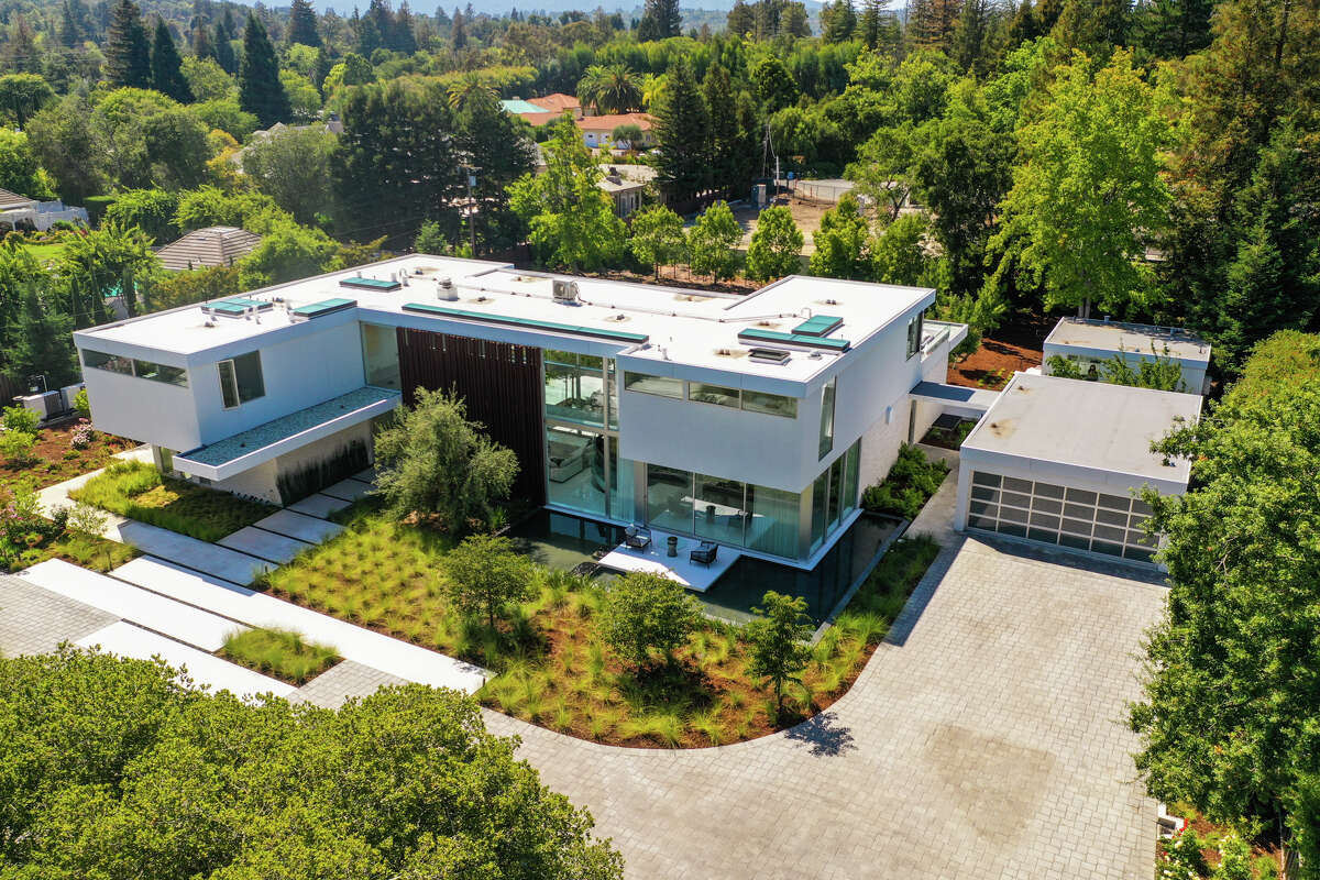 Built in 2017 and designed by award-winning architect Mark English, the home is massive with more than 8,869 square feet.